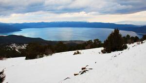 Türkiyenin en güzel kayak merkezi Manzarayı görenler akın akın geliyor...