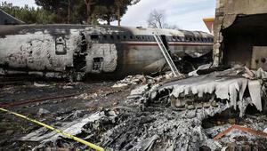 Son dakika... İranda kargo uçağı düştü
