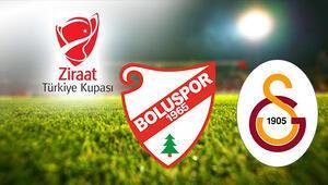 Boluspor Galatasaray Türkiye Kupası maçı ne zaman saat kaçta hangi kanalda