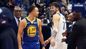 Curry attı, Doncice rağmen Golden kazandı