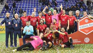 Türkiye Masterler Gürcistanda şampiyon oldu