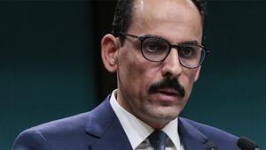 Son dakika... Cumhurbaşkanlığı Sözcüsü Kalın: Güvenli bölgenin kontrolü Türkiyede olacak