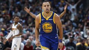 Warriorstan ilk çeyrek rekoru Maç sonu 31 sayı fark...