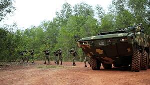 Dev zırhlının simülatörü de Malezya yolunda