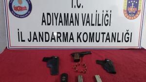Gergerde ruhsatsız tabancaya 1 gözaltı