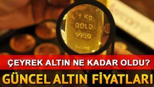 Altın fiyatları (gram, çeyrek, cumhuriyet) ne kadar oldu Altın fiyatlarında son durum
