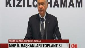 MHP lideri Bahçeliden Güvenli Bölge açıklaması
