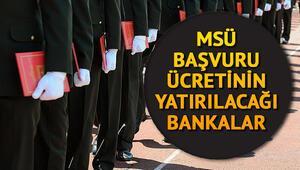 2019 MSÜ (Milli Savunma Üniversitesi) başvuru kılavuzu yayımlandı | Başvuru ücreti hangi bankalara yatırılacak