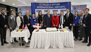 THYnin Ankara-Tiflis direkt uçuşları başladı