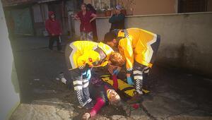 Zonguldakta ilginç olay İlk önce komşunun elektrik telini kesti sonra...