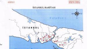 Darbeci generalin odasından Türkiyeyi bölme planı çıktı