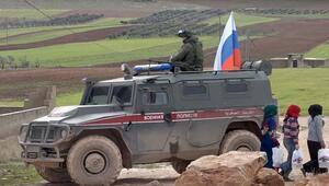 AA görüntüledi Münbiçte Ruslar ve YPG…