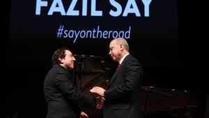 Gözler oradaydı... Erdoğan Fazıl Say'ın konserine katıldı