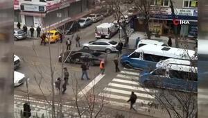 Ankarada kaza sonrası kavga