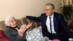 Bakan Yardımcısı Safrandan 'eğitim çınarına' ziyaret