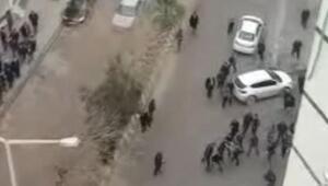Kızıltepede park etme kavgası: 3 yaralı 2 gözaltı
