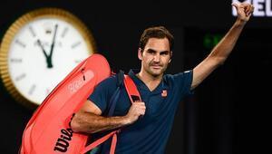 Son şampiyon Federerden Avustralya Açıka veda