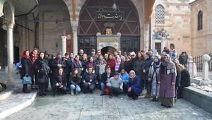 Engelli çocuklar ile gençler Kapadokya ve Konyayı gezdi