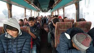 Tekirdağda 42 göçmen yakalandı; 2 insan kaçakçısı tutuklandı