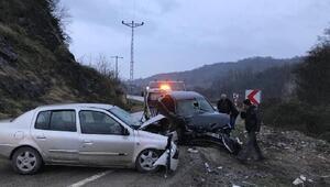 Orduda trafik kazası: 1 ölü, 7 yaralı
