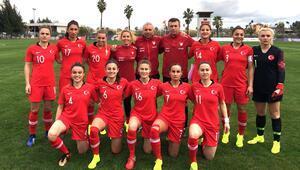 Kadın Milli Futbol Takımımız, Slovakya ile yenişemedi