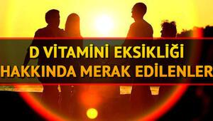D vitamini eksikliği nasıl giderilir D vitamini hangi besinlerde bulunur