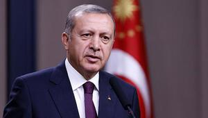 Erdoğan'a sunum