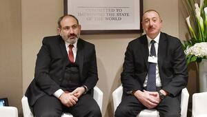 Aliyev ve Paşinyan Davosta bir araya geldi