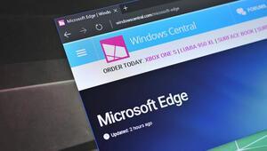 Microsoftun web tarayıcısı Edgee sahte haber uyarısı