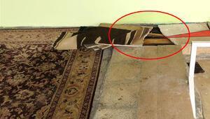 Asker, Diyarbakır'da caminin altında buldu