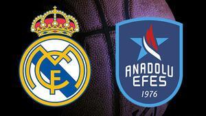 Real Madrid Anadolu Efes maçı bu akşam saat kaçta hangi kanalda canlı olarak izlenecek THY Avrupa Ligi