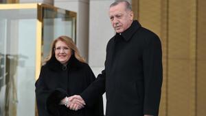 Malta Cumhurbaşkanı Preca Ankarada