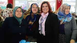 Başkan Çerçioğlu, Çineli kadınlarla buluştu