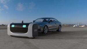 Havalimanındaki araçları otonom robotlar park edecek