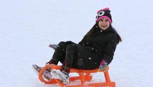 Akdağ Kayak Merkezinde tatil yoğunluğu