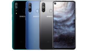 Samsung Galaxy A9 Pro kamerayı ekrana gömdü