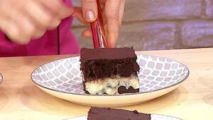 Muhallebili kakaolu kek nasıl yapılır Muhallebili kek tarifi yapılışı
