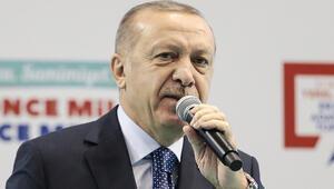 Cumhurbaşkanı Erdoğan'dan Erzurumda önemli açıklamalar