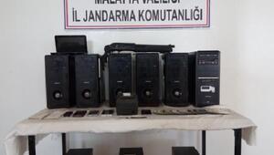 Malatyada yasa dışı bahis operasyonu: 6 gözaltı