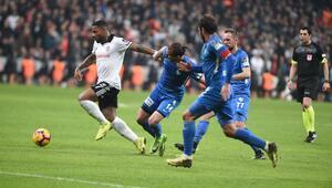 Beşiktaş evinde yara aldı 2 gol, 1 kırmızı kart...