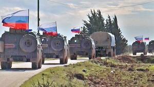 Rus güçleri Menbiç'in kuzeyinde devriyede
