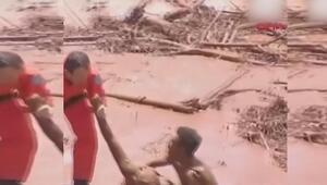 Brezilyada baraj çöktü