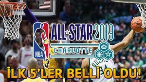 NBA All Star 2019 ilk 5leri açıklandı All Star ne zaman