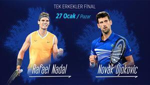 Avustralya Açıkta final heyecanı; Djokovic-Nadal