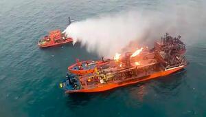 Kerç Boğazında kurtarılan denizciler Türkiye'ye gönderildi