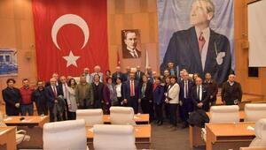 Başkan Çetin: 5 yıl bize ışık tuttunuz