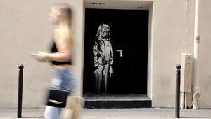 Banksy'nin üzgün kızını çaldılar