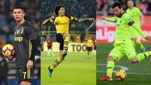 Barça, Juve ve Dortmund zirvedeki yerlerini korudu