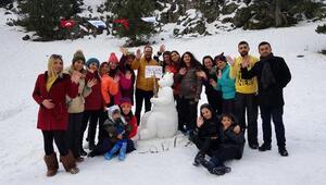 Adana'da Kardan Adam Şenliği