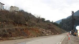 Fekede 4 ev heyelan nedeniyle boşaltıldı